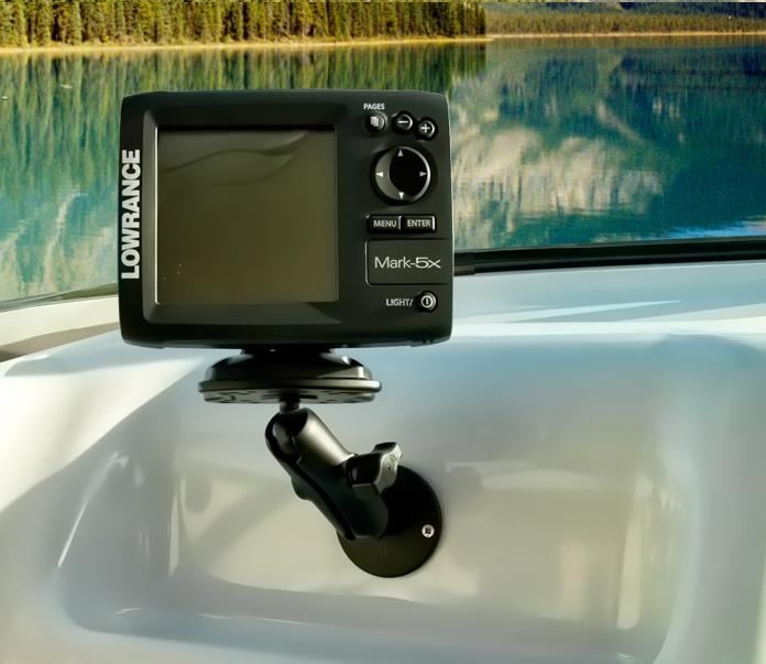 ram-b-107-tal3 ram mount tallon receiver with humminbird, Fish Finder