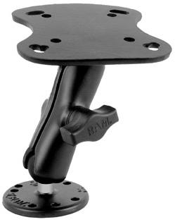 ram-b-107u ram mount fish finder mount for humminbird, lowrance, Fish Finder