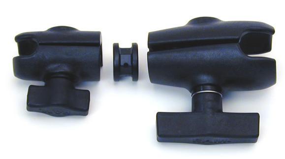 Ram Mount Parts >> Rap Bc 201u Ram Mount Double Socket Arm W 1 1 5 Sockets